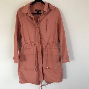 ❗️NEW ITEM❗️F21 salmon Utility Jacket